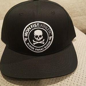 Nwot iron fist baseball cap